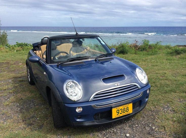 Check out our new Mini convertibles. Hire today from Polynesian Rental Cars Rarotonga #rarotonga
