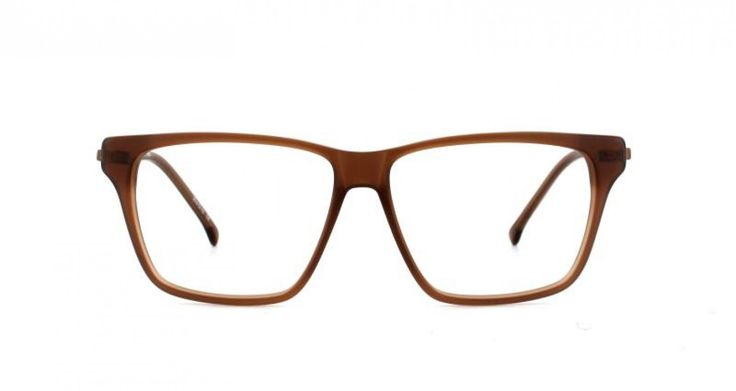 WEEKEND I A relaxed look perfect for the weekend. Almost unisex but not quite. Thin metal temples add a twist to a classic look. Toffee is a soft light brown.