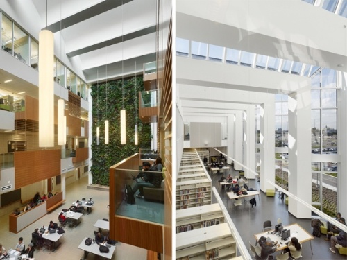 Centennial College Library And Academic Facility Toronto ON