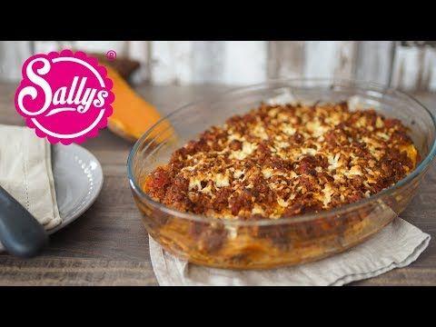 Sallys Rezepte - Süßkartoffel-Lasagne mit Hirtenkäse / genial & einfach