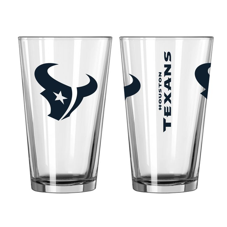 BOELTER BRANDS Houston Texans Game Day Pint Glass 2-Pack