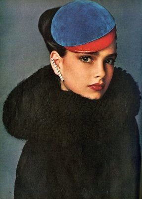 Brooke Shields by Richard Avedon for Vogue, 1978.: Richard Avedon, Richardavedon, Vogue 1978, Brooke Shields, 13 Year Old
