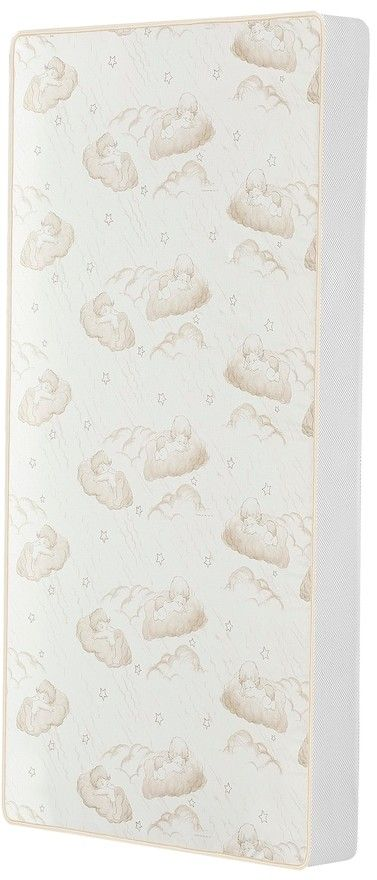 """Dream On Me 2-in-1 Breathable Twilight 5"""" Spring Coil Crib & Toddler Bed Mattress"""