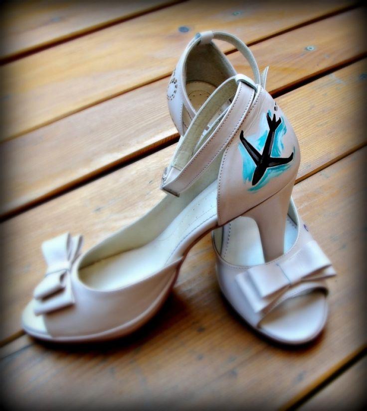 "Pantofi+pictati+""Travel"""