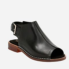 - Clarks® Sandals Cabaret Charm Black Leather  Summer go to sandal!  So comfortable
