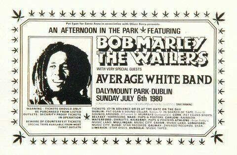 Bob Marley poster via twitter