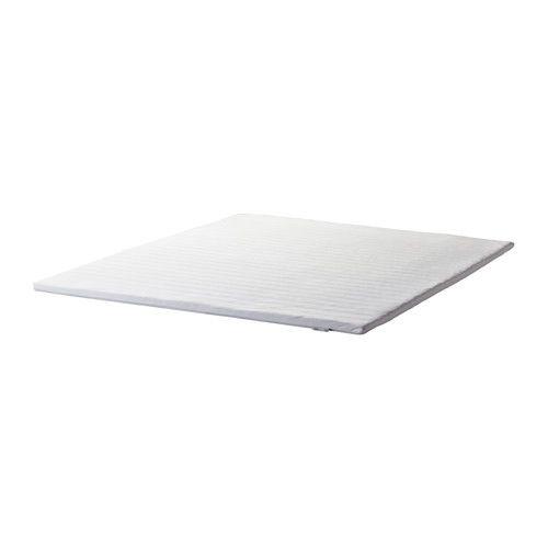 IKEA - TALGJE, Matratzenauflage, 140x200 cm, , Weiche Schlafoberfläche durch Schaumpolsterung.Der elastische Stoff auf der Oberseite passt sich perfekt an und sorgt so für hohen Schlafkomfort.Einfach sauber zu halten durch abnehmbaren, maschinenwaschbaren Bezug.Gerollt verpackt, lässt sich daher leicht mit nach Hause nehmen.