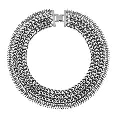 NAT KENT | The Copia Necklace in Gunmetal $89.95  available at www.natkent.com.au
