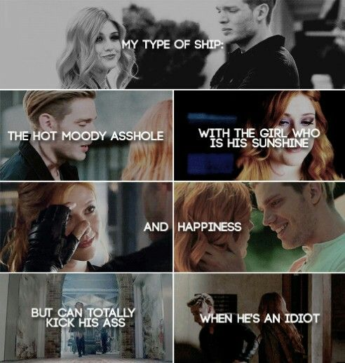 Yeeeees!!! Clace is my OTP♥♥♥ (with like a hundred other ships)