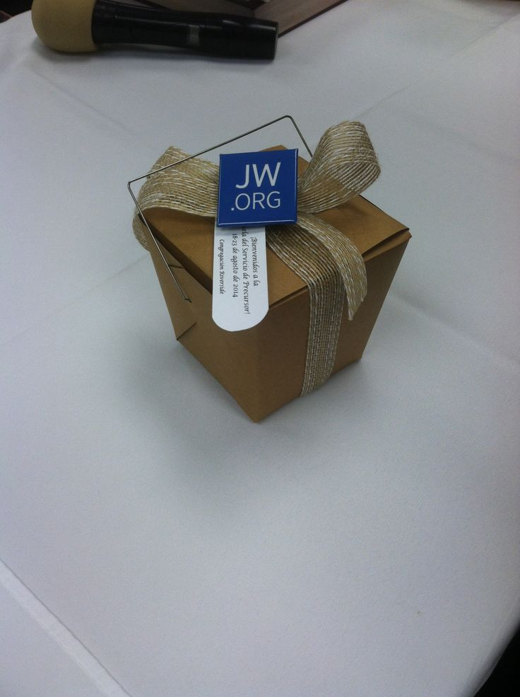 Gift from a giving congregation in Tucson, AZ for the regular pioneers :) even came with a JW. org pin for each and everyone of us :)