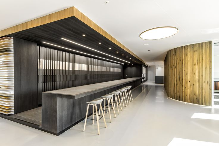 Decospan Treehouse Wood Veneer Samples Experience Zone for interior architects & designers.