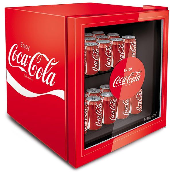 Coca Cola Mini Fridge — This fridge might have the 'mini' tag attached to it, but with it's 49 litre capacity, you will be able to keep enough cans cool to keep you and your friends going right through the night, and on to the next one!