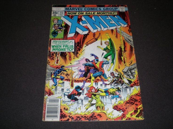 X-Men 113, (1978), 1st App Asteroid M, Marvel Comics WX