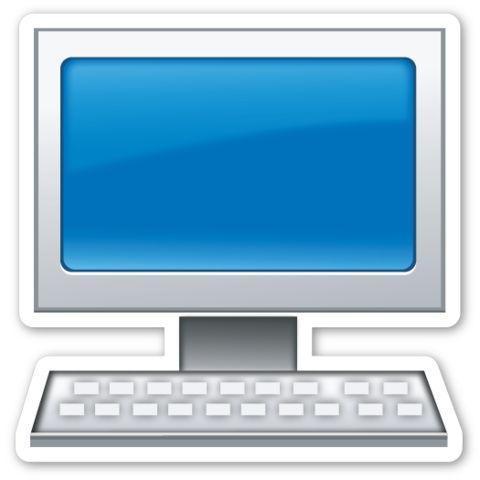 Personal Computer | EmojiStickers.com