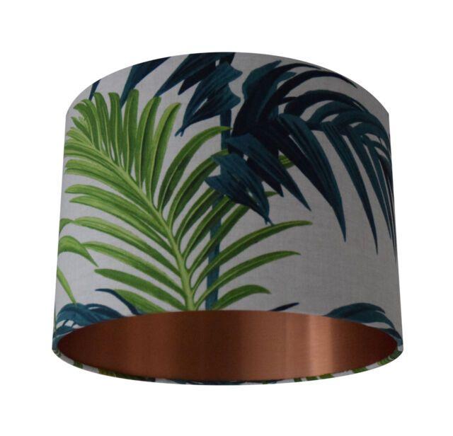 Tropical Leaves Lamp Shade Handmade