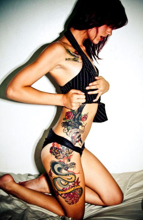 InkTattoo Women, Girls Generation, Girls Tattoo, Side Tattoo, Thighs Tattoo, A Tattoo, Tattoo Girls, Tattoo Ink, Body Tattoo