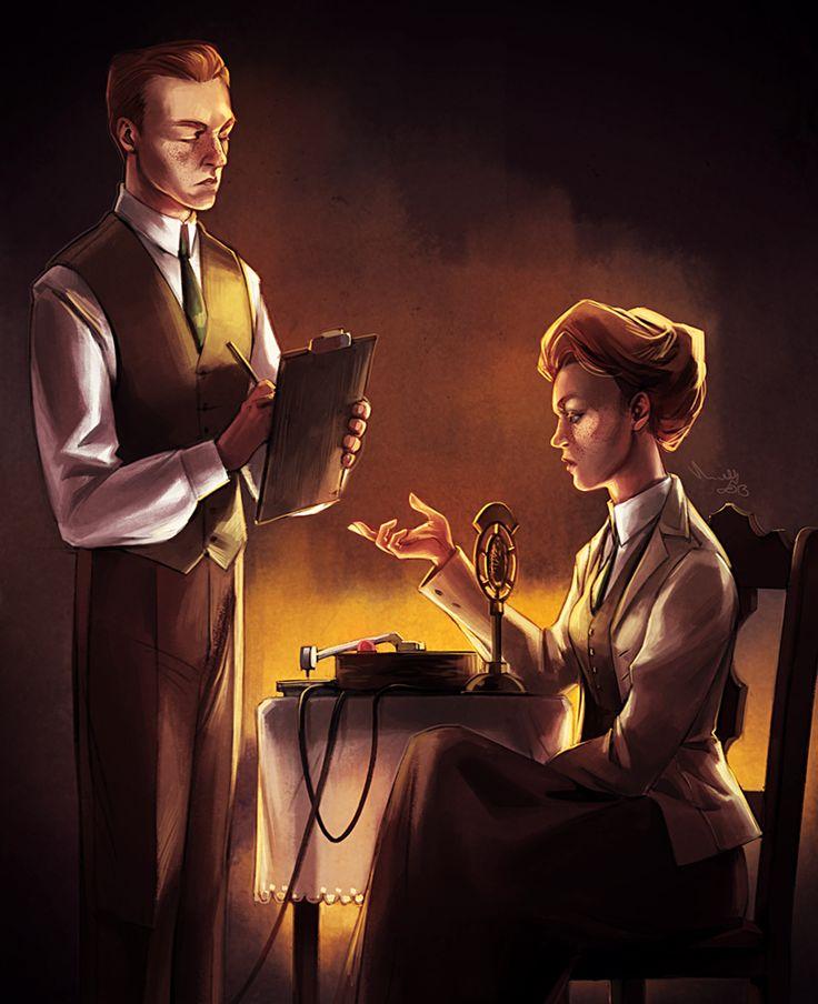 The Luteces (from BioShock Infinite) by Minttu Hynninen