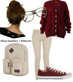 Lazy School Outfit on Pinterest