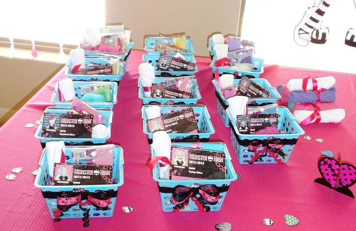 Monster High Spa Birthday Party Birthday Party Ideas | Photo 3 of 26 | Catch My Party
