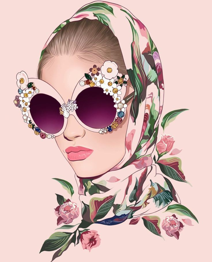 25 best ideas about fashion illustration face on