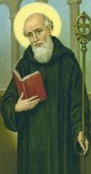 » San Benito de Nursia: Biografía corta; regla - Religion Catolica Romana
