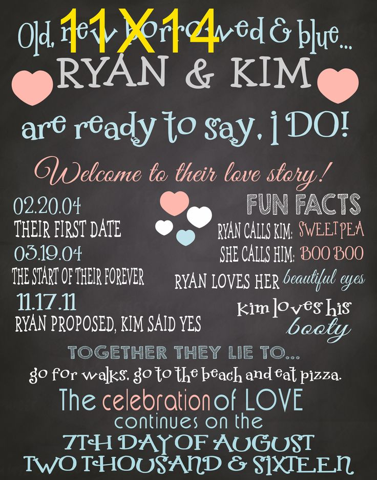 Engagement poster