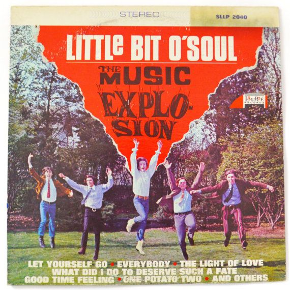 Vintage 60s The Music Explosion Little Bit O' Soul by Dopedoll