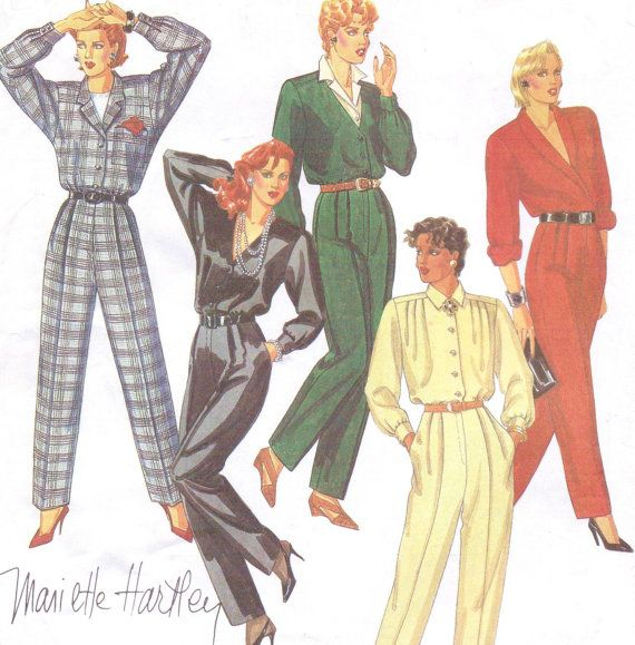 80s Mariette Hartley McCalls Sewing Pattern 2140 by CloesCloset, $12.00