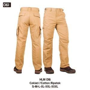 Celana Panjang Gunung dan Hiking tipe Cargo Pria [HLM 016] (Brand Trekking)…