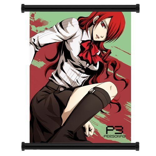 Shin Megami Tensei Persona 3 Game Fabric Wall Scroll Poster (16'x21') Inches * Remarkable product available now.   DIY   Do It Yourself Today