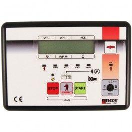 Las centralitas Elcos controlan los grupos electrógenos y los detienen si se produce alguna anomalía, mediante una electroválvula o electroimán.