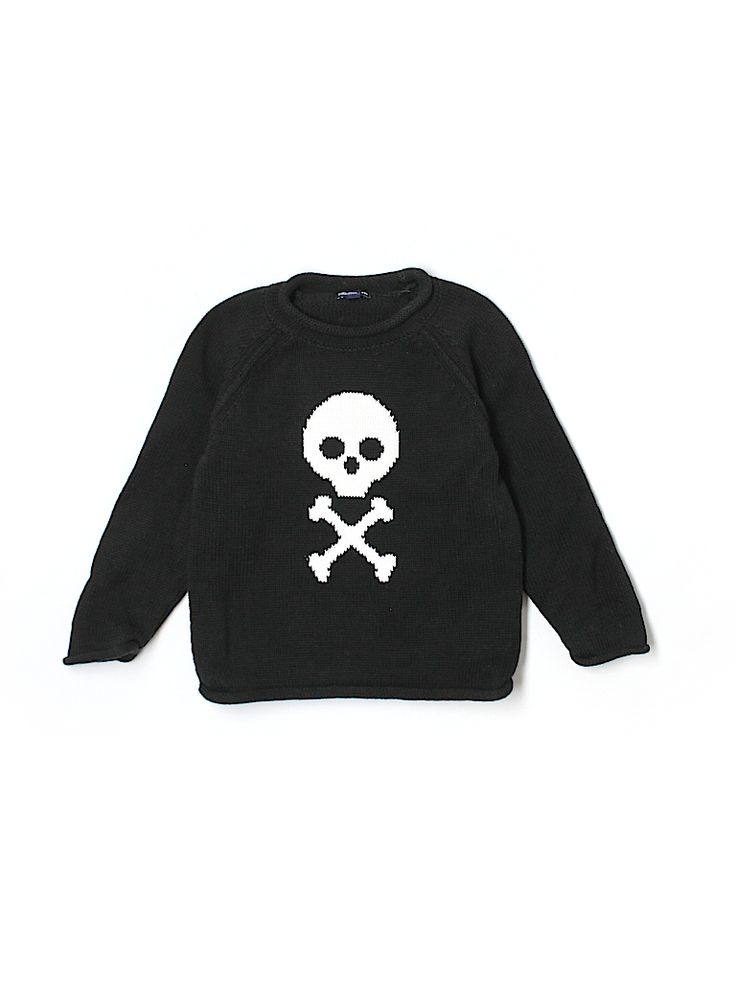 I'm not really skull crazy for baby clothes, but this sweater is cute and check out the price. Baby Gap Outlet Pullover Sweater for $5.99 on @thredUP!