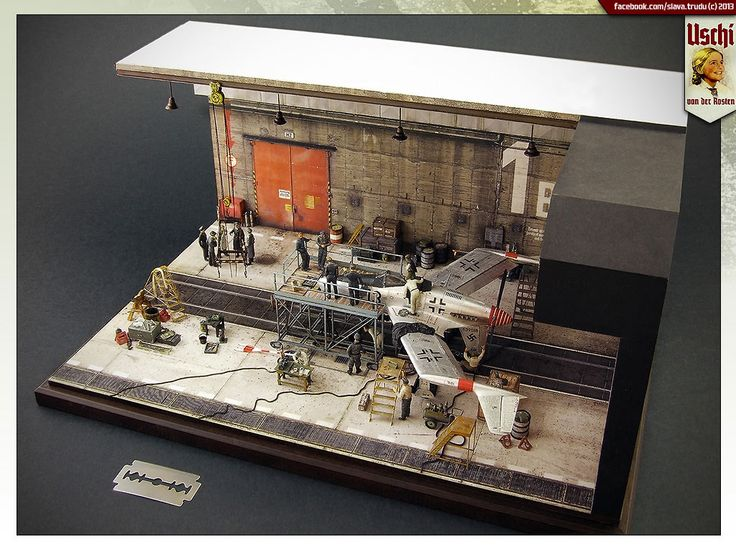 Dioramas and Vignettes: Lachs-Reimahg factory, 1946.