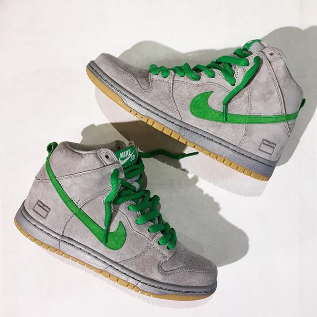 "Nike SB Dunk High Premium ""Gray Box"""