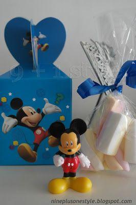 Idee per una festa a tema Topolino & Co! - Mickey Mouse's party ideas!