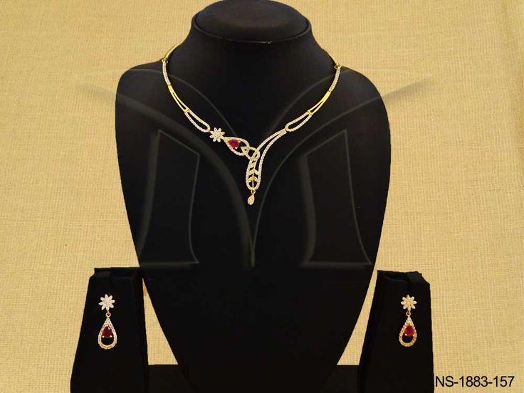 PAAN SHAPE TWISTED WRAP LINK AD NECKLACE SET