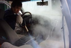 How to Use a Steam Cleaner in Cars?
