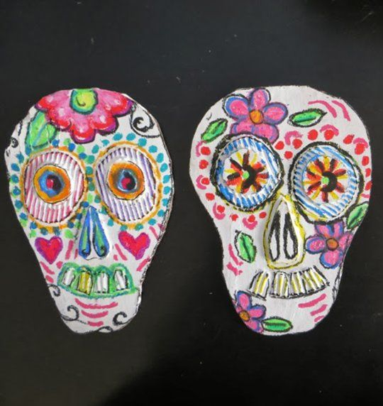 17 best images about d a de los muertos on pinterest for Day of the dead arts and crafts