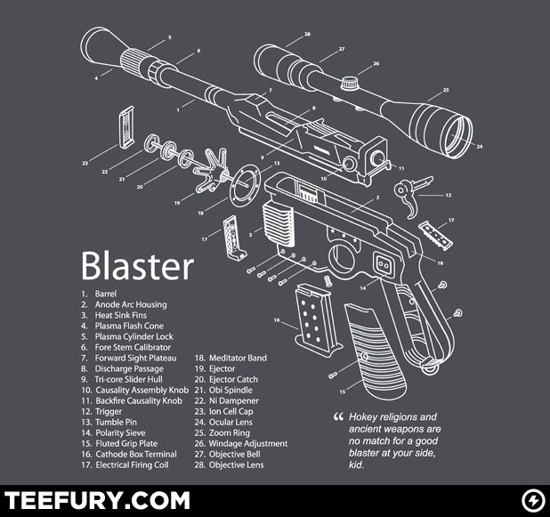 How to build Han Solo's blaster