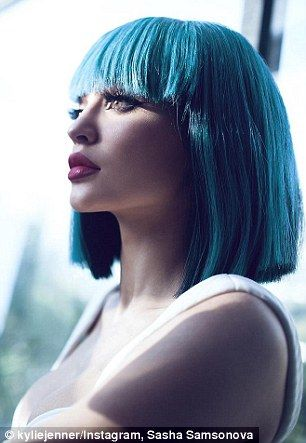 Kylie Jenner marks her 18th birthday with racy photoshoot #dailymail