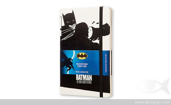 Moleskine Batman Limited Edition Notebook Collection