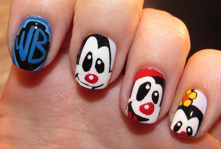 Animaniacs Nails