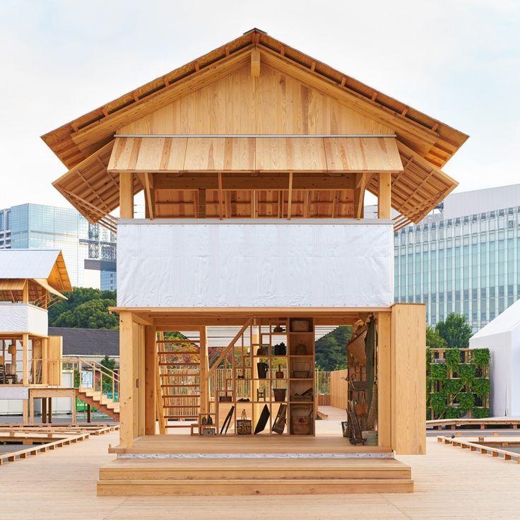 Архитектурная фирма Atelier Bow-Wow работала с японским дизайнерским брендом Muji, чтобы создать Tanada Terrace Office – прототип сельского домика, который можно поставить в качестве офиса даже на рисовых полях.