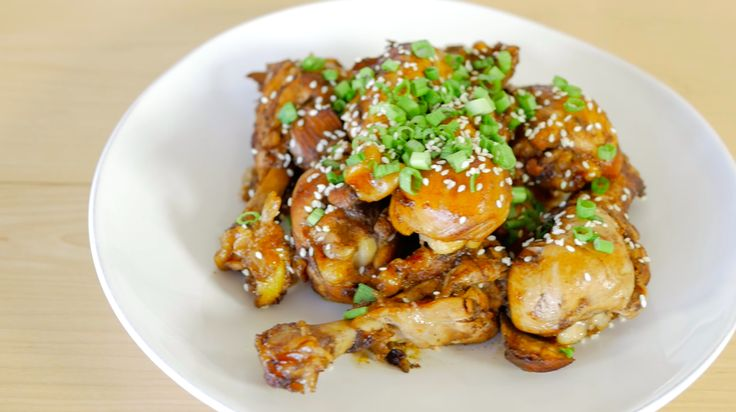 Learn how to make easy and delicious Asian Glazed Drumsticks!