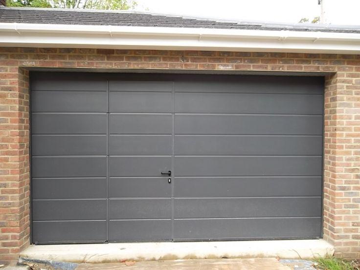 Image result for sectional garage door with wicket door & 11 best garage images on Pinterest | Garage conversions Garage ...