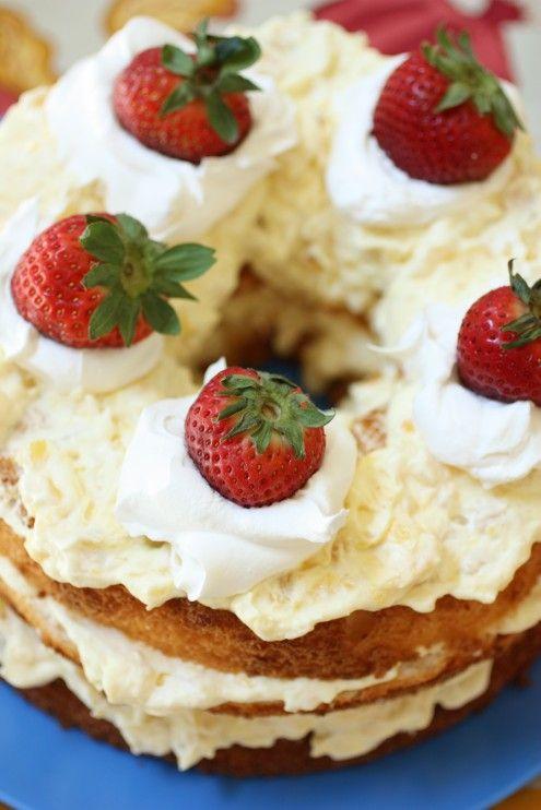 Healthy Angel Food Cake Toppings