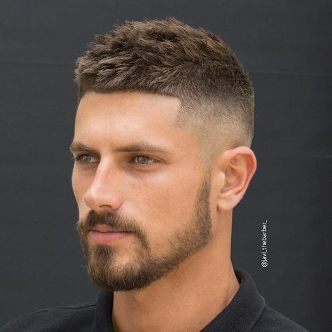 Coupe Homme Degrade Le Style Au Poil Tif Short Hair Styles