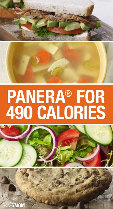 If you're craving some Panera but want to watch the calories, check out your options here.