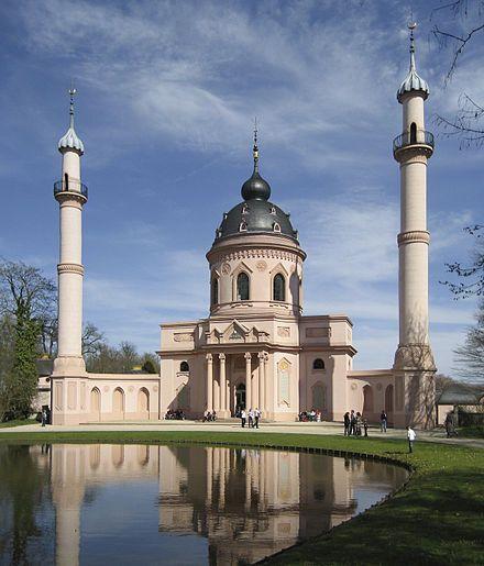 Mosque in Schwetzingen, (Germany)