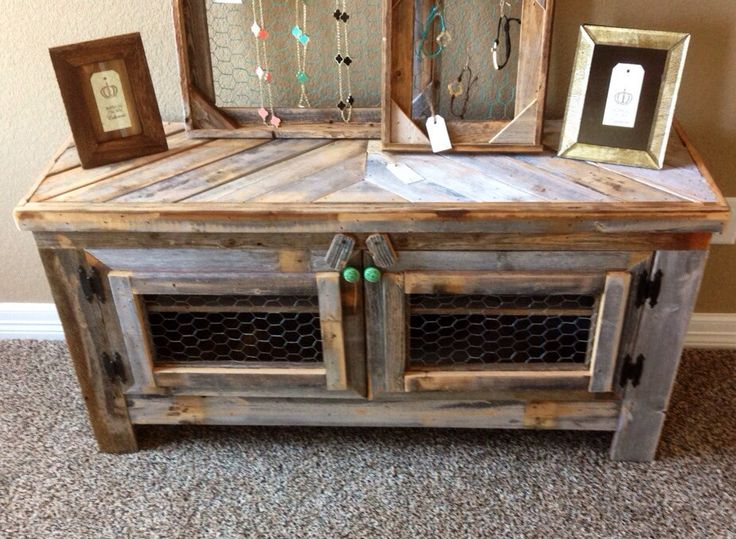 Barn Wood Style Tv Stand Reclaimed Wood Amp Chicken By
